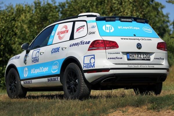 Auto Zietlowa - Volkswagen Touareg V6 TDI na oponach Goodyear (3)