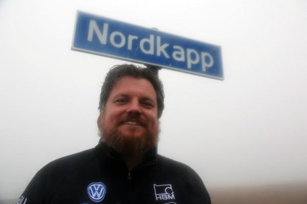 Rainer Zietlow w Nordkapp