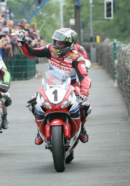 Zespół Honda_triumfator w wyścigach TT