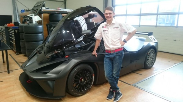 Maciek Dreszer przy KTM X-BOW GT4
