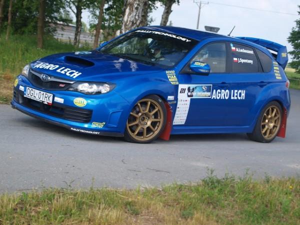 Archiwum Klubowe - kierowca Arkadiusz Lechoszest, Subaru Impreza
