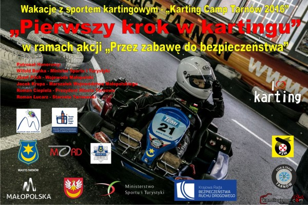 Karting Camp Tarnów 2016