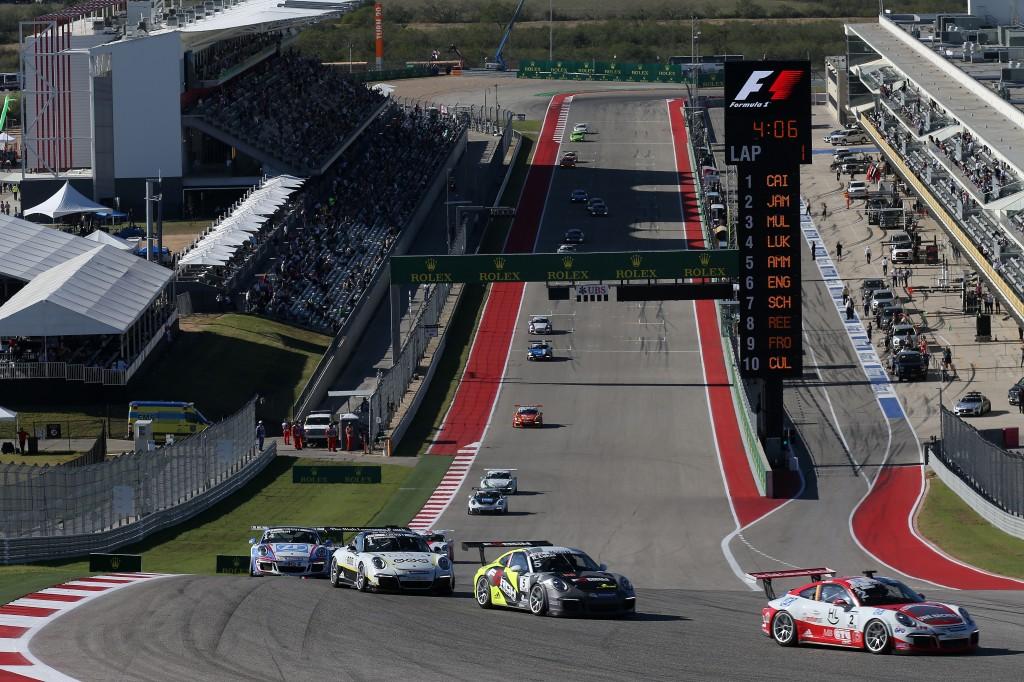 Porsche Mobil 1 Supercup Austin 2016