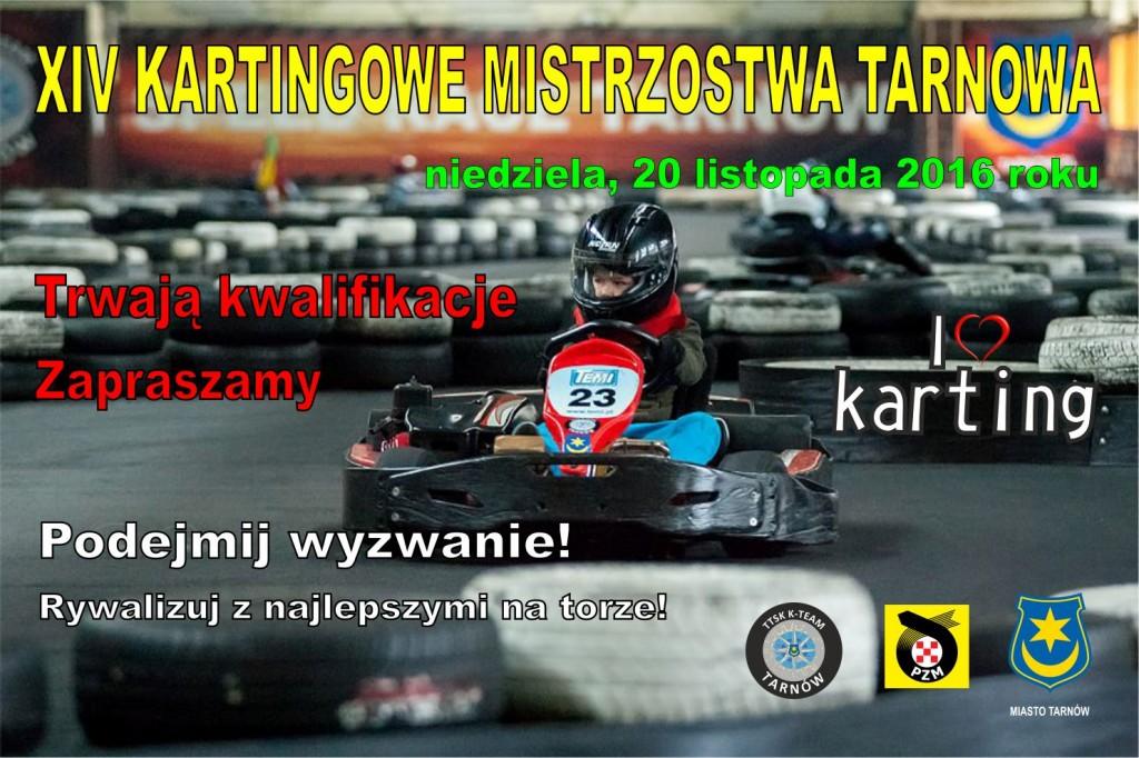 Kartingowe Mistrzostwa Tarnowa 2016