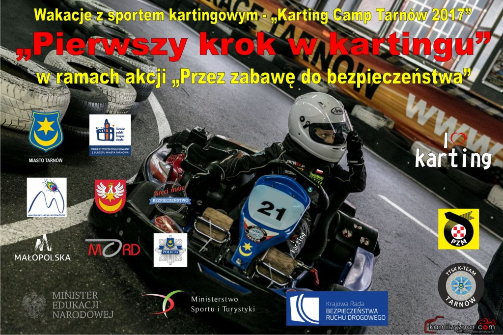 Karting Camp Tarnów 2017