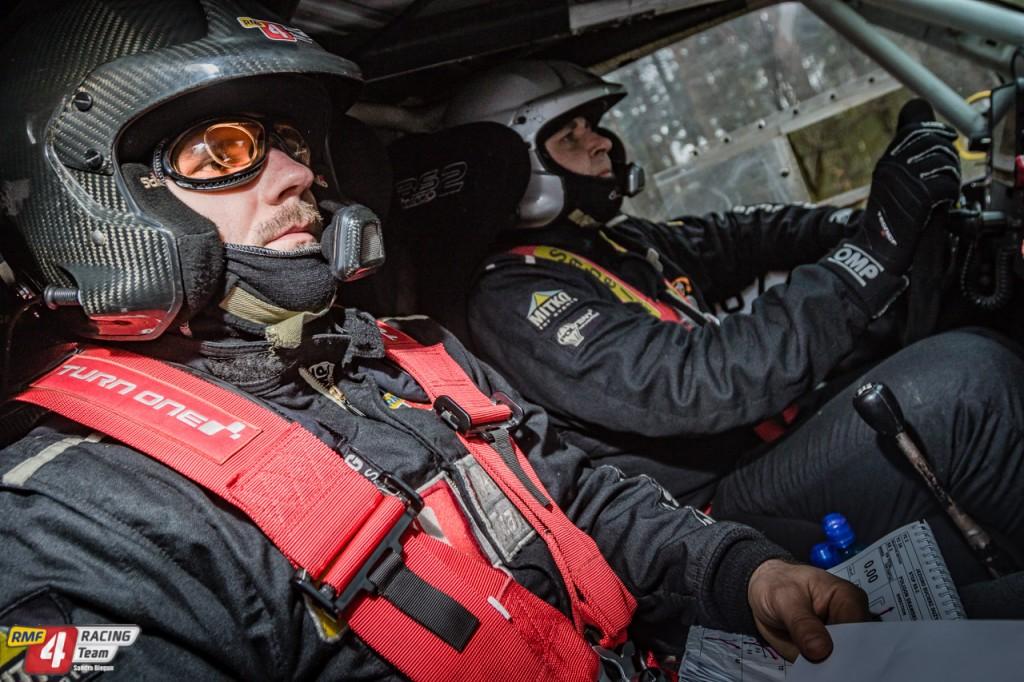 PBuciennik i Sznadrowski przed startem