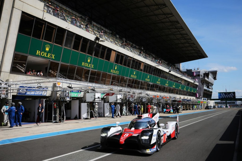 Le Mans 24 Hours Test