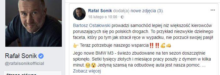 Rafał Sonik_Facebook