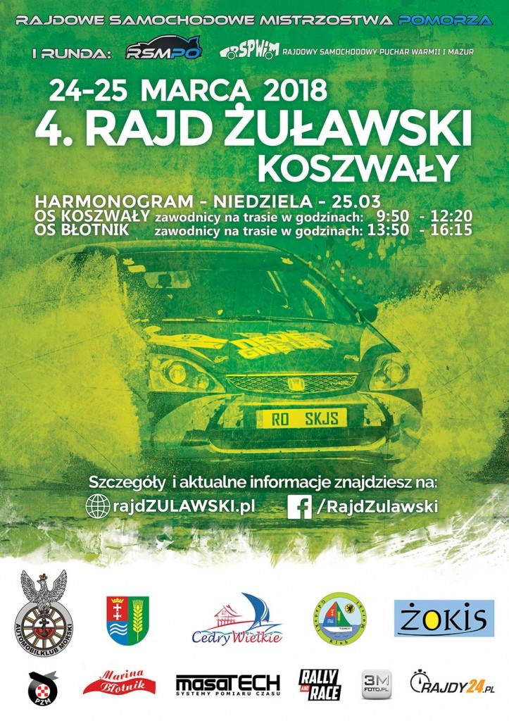 Rajd Żuławski Plakat WEB