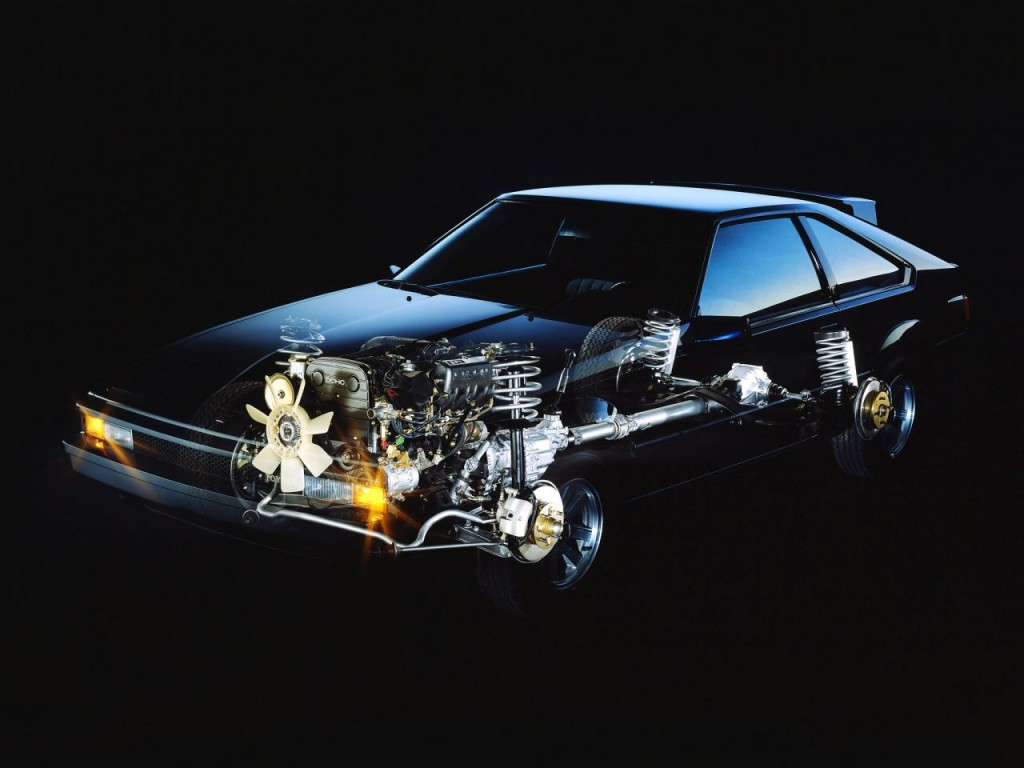 1985; Toyota; Supra