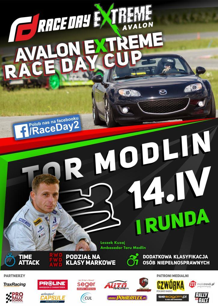 Avalon Extreme Race Day Cup_Tor Modlin_Plakat