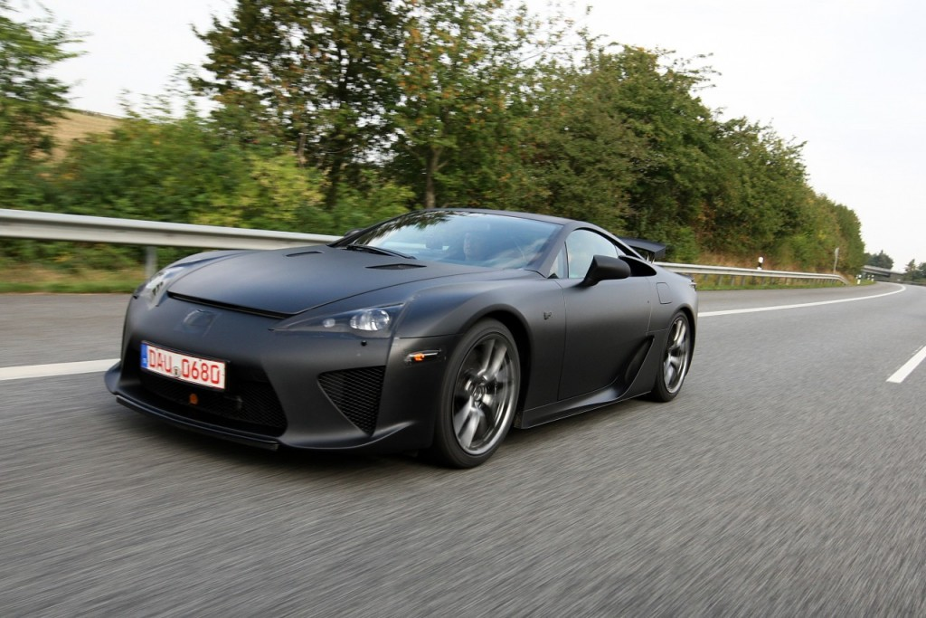 Lexus LFA Nurburgring Presentation  Photoshooting US Group 17.Sept.2009