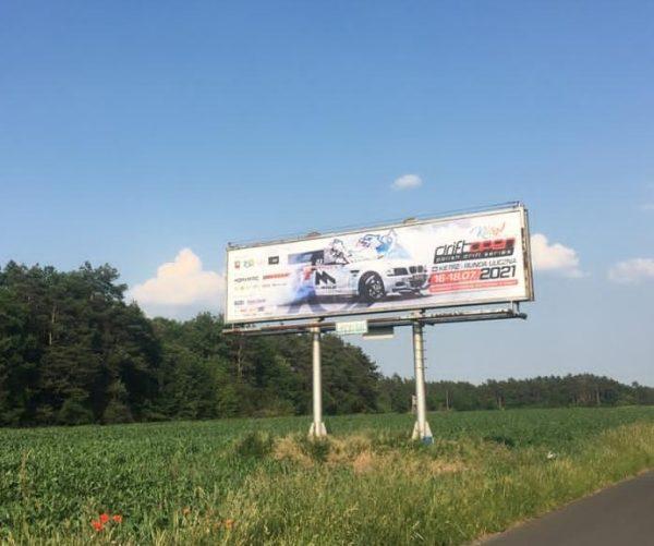 Billboard przy obwodnicy Opola. Będzie 9 takich w promieniu kilkudziesięciu kilometrów od miasta. Fot. Top-Car Drift