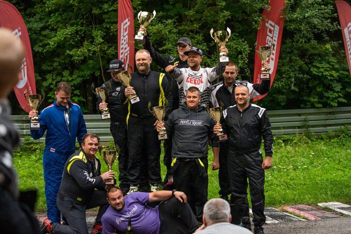 Finaliści 57, rundy Drift Open w Kielcach! Fot. Krzysztof Klimek